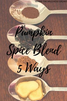 Mum's pumpkin spice blend and five of my favourite ways to use it!