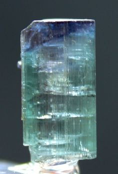 11.50 cts Top Quality Terminated Unique Purplish Blue Cap TOURMALINE Crystal