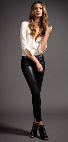 MaxFowles. For fall. Gotta get some leather pants. Amazing!