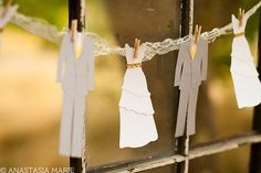 Paper Wedding Garland  Bride & Groom by AnastasiaMarieShop on Etsy, $29.50