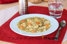 Chicken Stew and Dumplings