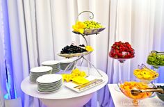 indian wedding foods table bright colorful http://maharaniweddings.com/gallery/photo/5279