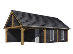 Een houten tuinschuur van UniQue buitenleven. Bekijk dit model of bekijk ons portfolio een raak geïnspireerd door de vele mogelijkheden.