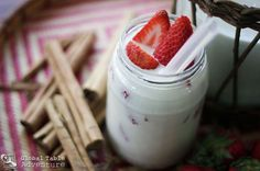 Strawberry Almond Horchata