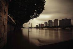 David et Myrtille / Arcangel - Paris, inondation Juin 2016, crue de la Seine