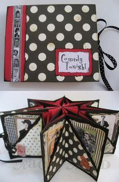 Star Book Tutorial : http://kbatsel.blogspot.be/2013/05/star-book-tutorial.html Christmas? gifts