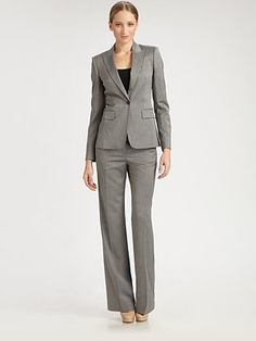 BOSS Black - Tropical Melange Suit Jacket - Saks.com, Pants 165, look silky when walk, only available in store