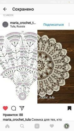 Most up-to-date Free of Charge Crochet Doilies centerpiece Thoughts Doily Centerpiece Pineapple Table Linen Placemat Home Decoration Crochet lace tabletop decor Mandala Au Crochet, Crochet Doily Diagram, Crochet Circles, Crochet Doily Patterns, Crochet Chart, Thread Crochet, Crochet Stitches, Beau Crochet, Crochet Lace
