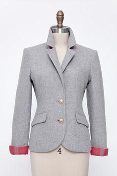 Love 2 Penny Blue - Cambridge Blazer in Grey - 2pennyblue.com