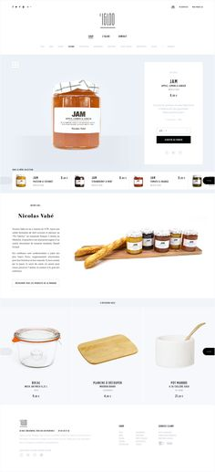 L'Igloo is a small decoration shop specialized in Scandinavian design located in Aix-en-Provence, south of France. The challenge was to create a site with Nordic inspirations all keeping the idea to highlight the products for this e-commerce website. Site Web Design, Website Design Layout, Web Layout, Layout Design, Website Designs, Life Design, Wireframe, Maquette Site Web, Conception D'interface