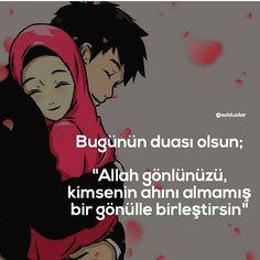 Amin🙏🙏 @derinduygularr 👏🏻 ............................................................ ────────────── ▸ #güzelsözler ✔ ▸ #edebiyatkulübü ✔… Islam Muslim, Allah Islam, Halal Love, True Love, Love Story, Dj, Writing, Words, Memes