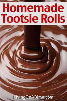 Homemade Tootsie Rolls Recipe Using Just 4 Ingredients - Living on a Dime To Grow Rich Easy No Bake Desserts, Just Desserts, Delicious Desserts, Fudge Recipes, Dessert Recipes, Copycat Recipes, Home Made Candy, Homemade Candies, Homemade Candy Recipes