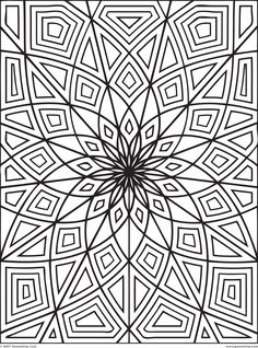 Detailed Coloring Pages For Adults   colouring sheets and geometric colouring color in the geometric shapes ...