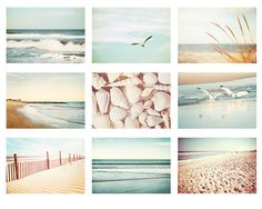 Beach Photo Set  9 5x7 Beach Photographs  by CarolynCochrane, $101.25