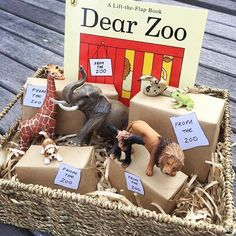 Dear zoo - Creative Area Ideas for Early Years – Dear zoo Eyfs Activities, Nursery Activities, Infant Activities, Dear Zoo Activities, Work Activities, Preschool Literacy, Early Literacy, In Kindergarten, Home Preschool