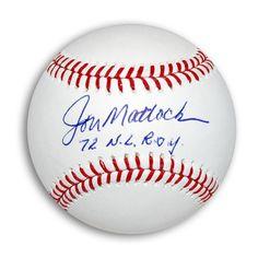 "AAA Sports Memorabilia LLC - Jon Matlack Autographed MLB Baseball Inscribed ""72 NL ROY"", $57.95 (http://www.aaasportsmemorabilia.com/mlb/new-york-mets/jon-matlack-autographed-mlb-baseball-inscribed-72-nl-roy/)"