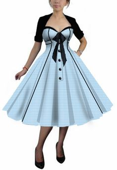 Blueberry Hill Fashions : Retro Plus Size Clothing Designs