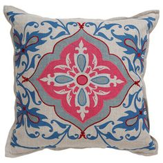 I pinned this from the Beautiful Bedroom - Stunning Pillows, Bedding, Window Sheers & More event at Joss and Main!