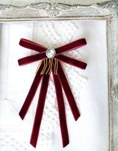 12 days of christmas costumes Velvet Bow Tie, Red Bow Tie, Velvet Ribbon, Red Velvet, Fabric Bows, Ribbon Bows, Women Bow Tie, Bow Shoes, Christmas Costumes
