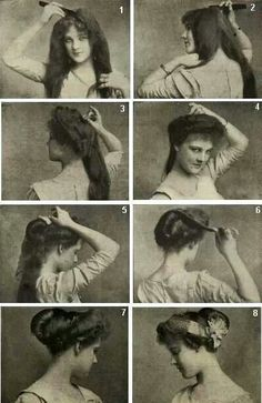 Victorian Hairstyle