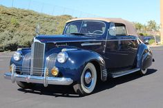 1941 Packard 110 Convertible Maintenance/restoration of old/vintage vehicles: the material for new cogs/casters/gears/pads could be cast polyamide which I (Cast polyamide) can produce. My contact: tatjana.alic@windowslive.com