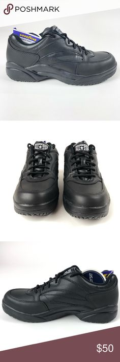 ebddcfdc83f2 Converse Unisex Hi Top Steel Toe Work Boots Converse All Star 500 hi-top  leather black safety work shoes. Shoes have steel toe and ar…