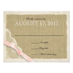 =>quality product          Antique White Lace Country Response Blush Custom Invitation           Antique White Lace Country Response Blush Custom Invitation We have the best promotion for you and if you are interested in the related item or need more information reviews from the x customer who...Cleck Hot Deals >>> http://www.zazzle.com/antique_white_lace_country_response_blush_invitation-161507018460482123?rf=238627982471231924&zbar=1&tc=terrest