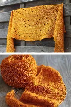 Ravelry: Melodia shawl with Madelinetosh Tosh Merino Light - knitting pattern by Janina Kallio.