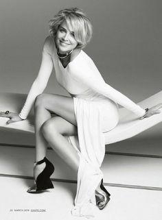 Sharon Stone – Shape Magazine (March 2014)