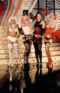 "14 Ways You Can Channel Christina Aguilera This Halloween ""Lady Marmalade"" Christina Convince your BFFs to dress as the four ladies of Moulin Rouge's ""Lady Marmalade."" Everyone will appreciate the nostalgic costumes."