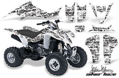 AMR RACING QUAD DECALS ACCESSORIES ATV GRAPHICS KIT LTZ 400 LTZ400 SUZUKI 03-08