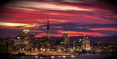 Auckland, New Zealand home to 1,486,000 people.