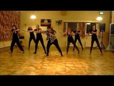 "Mark Ronson & Bruno Mars ""Uptown Funk""  Choreo by Magali Tiemersma. - slower pace than Medora's routine"