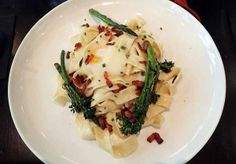Pappardelle carbonara, anyone?  | Photo by Steve Coomes