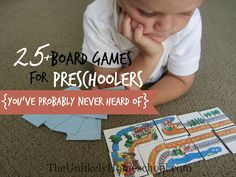 The Unlikely Homeschool: 25+ Board Games for Preschoolers {You've Probably ...