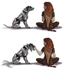 Aloy meets a new machine