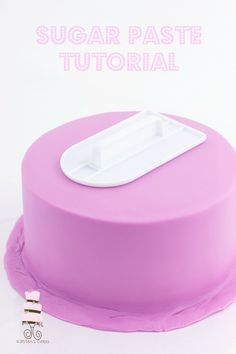 How to make sugar paste