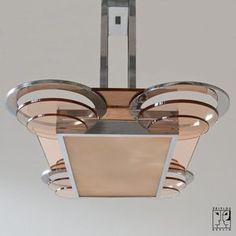 French art deco lamp.