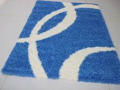 Shaggy kék szőnyeg