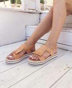Platte sandalen online shoppen SACHA