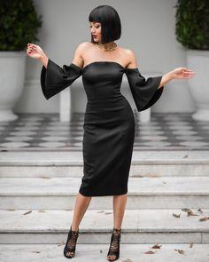 In caso di dubbio indossare nero. E ucciderlo. ♱♱♱ Dress dikeepsakethelabel + Heels damode_collective