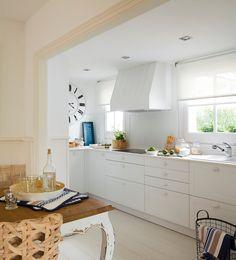 70 m2 en blanco ibicenco · ElMueble.com · Casas