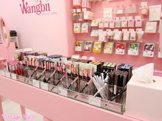 Vintage Nails: Wangbii: tienda de cosmética coreana en Madrid Korean Makeup store in Madrid, Spain, so cute! <3