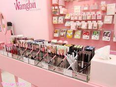 Vintage Nails: Wangbii: tienda de cosmética coreana en Madrid Korean Makeup store in Madrid, Spain, so cute!