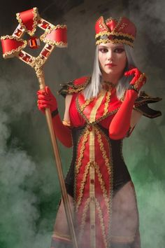 Sally Whitemane. World of Warcraft  Can't tell you how many times I've killed this woman....