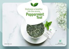 A cup of peppermint tea can help you in ways more than just one. It's such a tea that makes for an excellent concoction having myriad health and beauty benefits.