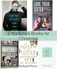 5 Nonfiction #Books for #Christmas 2014