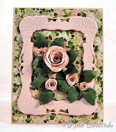 Rolled roses card (MFT Rose vs Mini Roses dies)