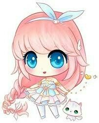 Elizabetha without Green eyes Kawaii Anime, Chibi Kawaii, Arte Do Kawaii, Cute Anime Chibi, Kawaii Art, Cute Anime Character, Cute Characters, Anime Characters, Cute Animal Drawings Kawaii