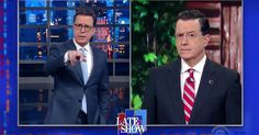 'Late Show'-host attacks president's proposed cuts to programs that benefit children, elderly